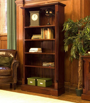 Baumhaus La Roque Mahogany Tall Open Bookcase (IMR01A)