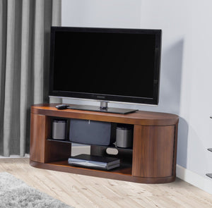 Jual Florence Curved Walnut TV Cabinet (JF207 WB)