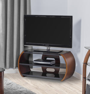 Jual Florence Curved Walnut TV Stand (JF208 WB)