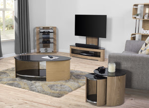 Shown with JF204 Hifi Rack, JF209 TV Stand, JF305 Nest of Tables and the BS201 Bookcase