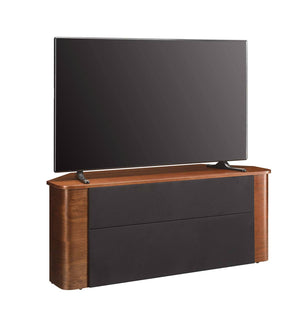 Jual Florence Curved Walnut TV Stand suitable for use with Soundbars (JF708)