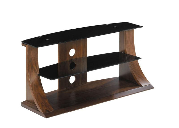 Jual Florence Curved Walnut TV Stand for Screens up to 37 inch (JF201 WB 850)