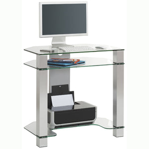 Maja Paris Glass Corner Desk (1651-9499)
