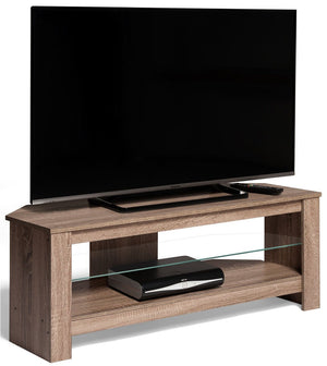 Techlink Calibre+ Grey Oak TV Stand (406078)