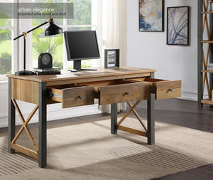 Baumhaus Urban Elegance - Reclaimed Home Office Desk / Dressing Table