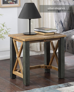 Baumhaus Urban Elegance - Reclaimed Open Front Side / Lamp Table