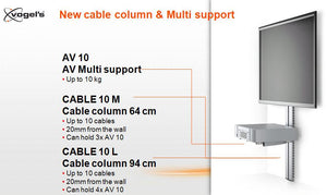 Vogels Cable 10L Cable Management Column