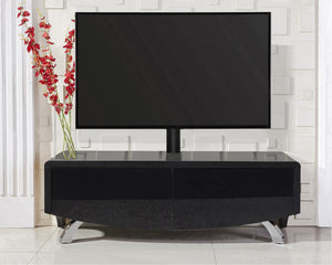 MDA Wave 1200 Hybrid Black TV Stand For Up To 60""