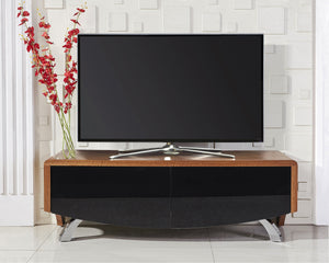 MDA Wave 1200 Hybrid Walnut TV Stand For Up To 60""