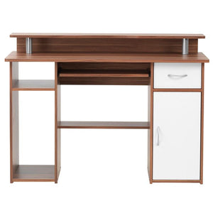 Alphason Albany AW12362-W Walnut Computer Desk