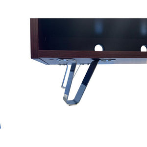 Alphason Bella 1500 Dark Elm TV Stand ADBE1500ELM