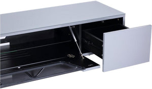 Alphason Chromium 1600mm TV Stand in Grey (CRO2-1600CB-GRY)