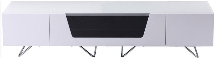 Alphason Chromium 1600mm TV Stand in White (CRO2-1600CB-WHT)