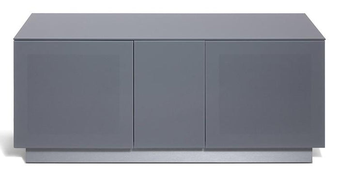 Alphason Element EMT1250XL High Gloss Grey TV Cabinet 520mm Tall