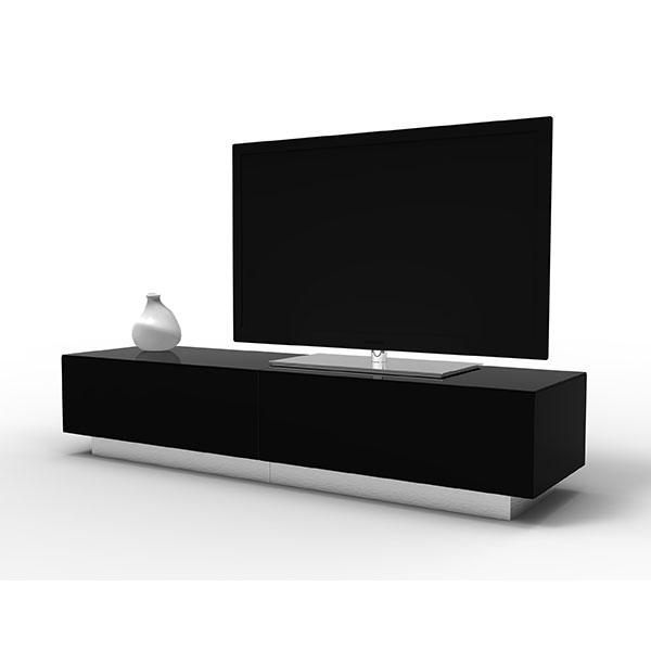 Alphason Element EMT1700 High Gloss Black TV Cabinet