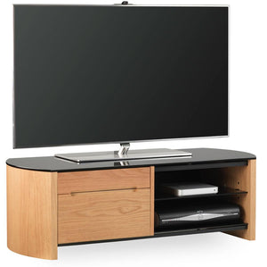 Alphason Finewoods FW1100CB-LO Light Oak TV Stand