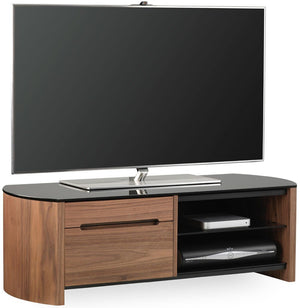 Alphason Finewoods FW1100CB-W Walnut TV Stand