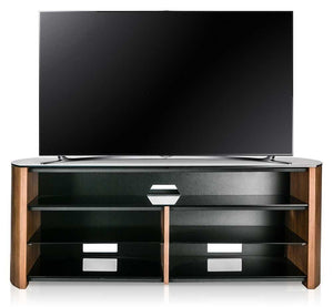 Alphason Finewoods Walnut Soundbar Ready TV Stand - FW1350SB-W