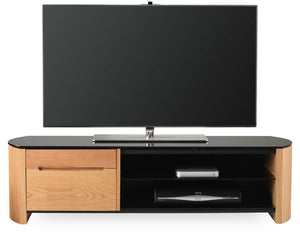 Alphason Finewoods FW1350CB-LO Light Oak TV Stand