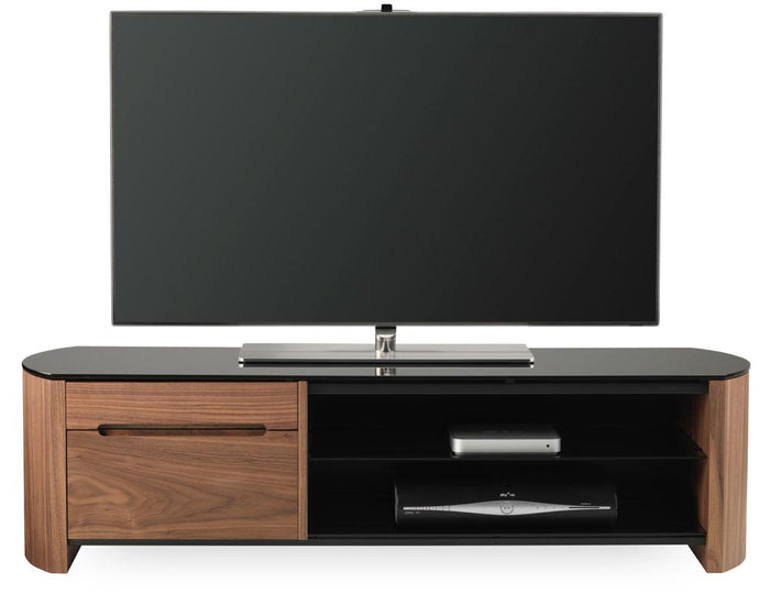Alphason Finewoods FW1350CB-W Walnut TV Stand