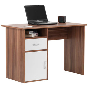 Alphason Hastings AW22145 Walnut Computer Desk