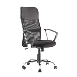 Alphason Orlando Mesh Office Chair - AOC4087-BLK