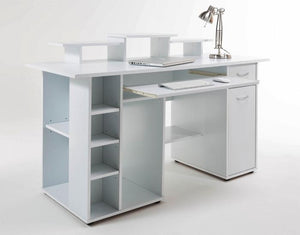Showroom Sale - Alphason SAN DIEGO AW12004WHI White Office Desk