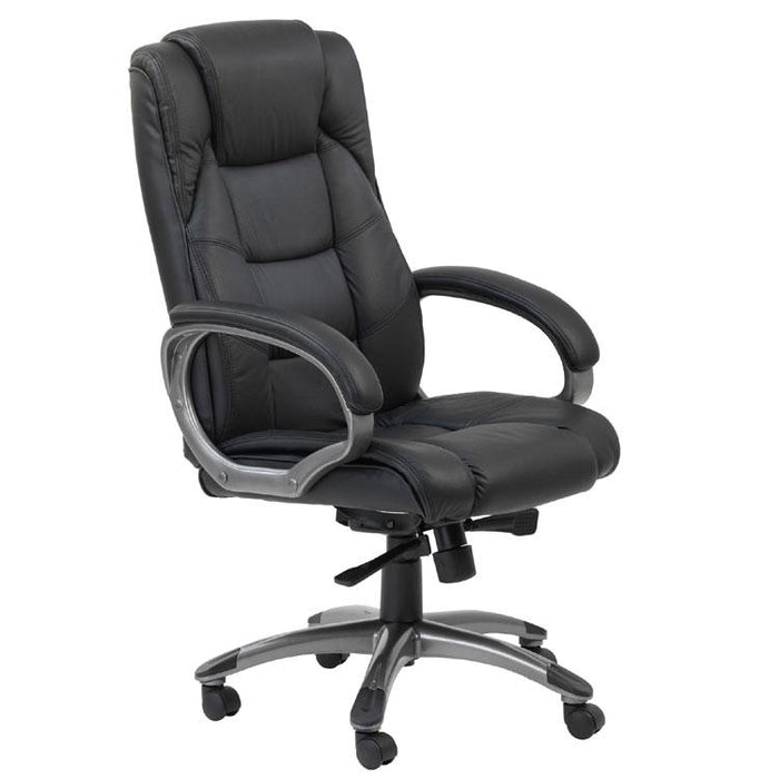 Alphason Northland Black Leather Executive Office Chair (AOC6332-L-BK)
