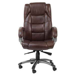 Alphason Northland Brown Leather Executive Office Chair (AOC6332-L-BRN)