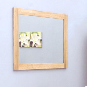 Baumhaus Mobel Oak Wall Mirror Medium (COR16B)
