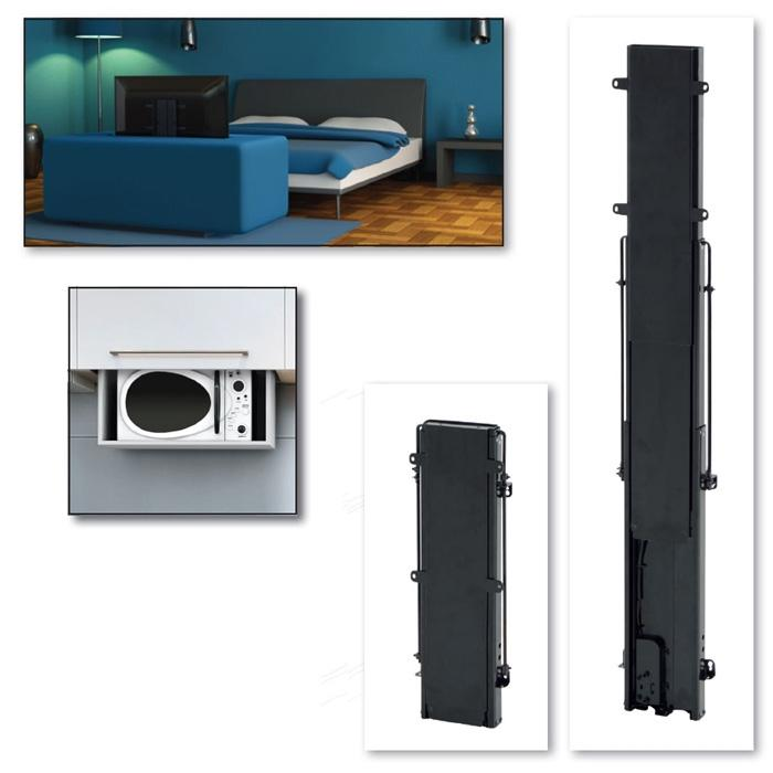 AV4-LF600 Flat Screen Lifting Mechanism 600mm Lift / Travel