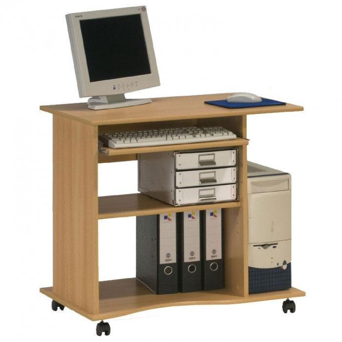 Maja Madrid Computer Trolley in Beech (4024 5531)