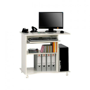 Maja Madrid Computer Trolley in White (4024 5535)