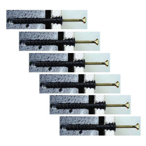 Forgefix DrylinePro Dot and Dab Wall Fixings Pack of 6
