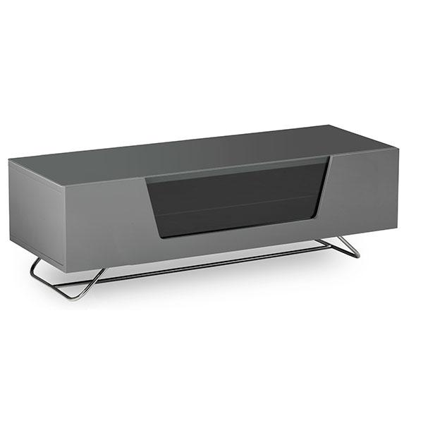 Alphason Chromium 1200mm TV Stand in Grey (CRO2-1200CB-GRY)