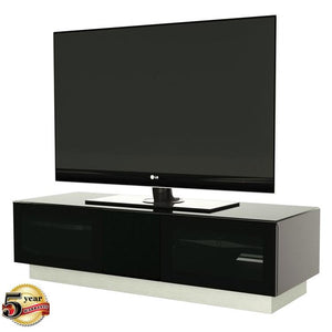 Alphason Element EMT1250 High Gloss Black TV Cabinet