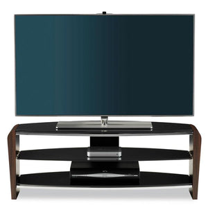 "Alphason Francium Large Walnut TV Stand for up to 50"" TV's - FRN 1100/3-W"