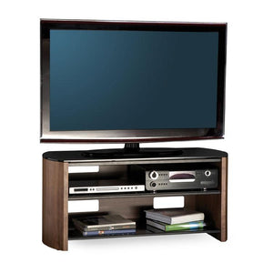 Alphason Finewoods Walnut TV / Hifi Stand - FW1100-W/B
