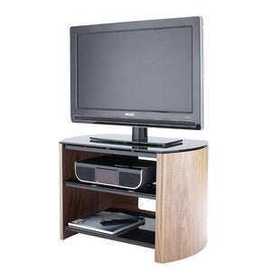 Alphason Finewoods Light Oak TV / Hifi Stand - FW750-LO/B