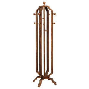 Jual San Marino Curved Walnut Coat Stand (JF505)