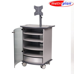 Metroplan VIP91G Mitre Presenter Cabinet with Graphite Top and Base