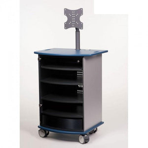 Metroplan VIP91B Mitre Presenter Cabinet with Aqua Top and Base