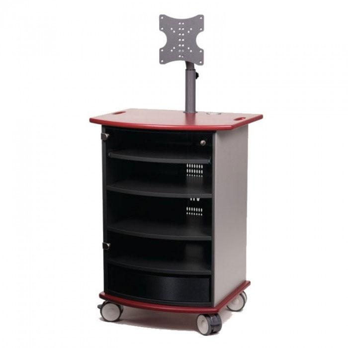 Metroplan VIP91R Mitre Presenter Cabinet with Ruby Top and Base