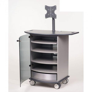 Metroplan VIP92G Mitre Presenter XL Cabinet with Graphite Top and Base