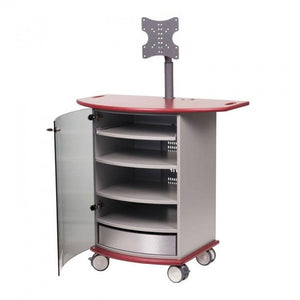 Metroplan VIP92R Mitre Presenter XL Cabinet with Ruby Top and Base