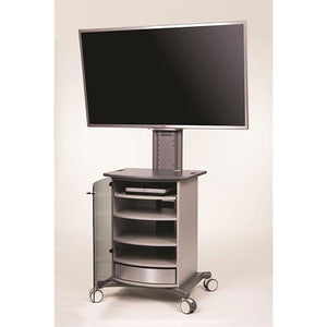 Metroplan VIP93G Mitre Conference Cabinet with Graphite Top and Base