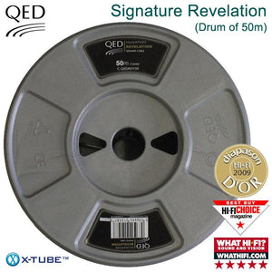 QED Signature Revelation Speaker Cable - Drum of 50m