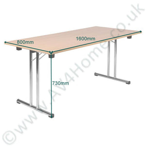 Teknik Space Folding Table in Beech (6909BE)