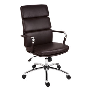 Teknik Deco Brown Leather Executive Chair (1097BN)