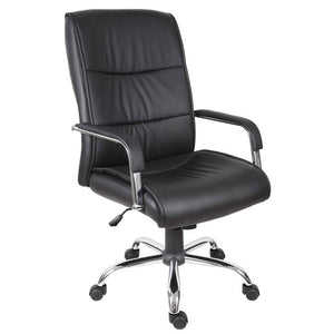 Teknik Kendall Black Leather Executive Chair (6901BK)